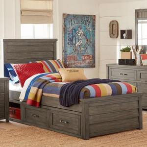Bunkhouse Panel Bed, Twin
