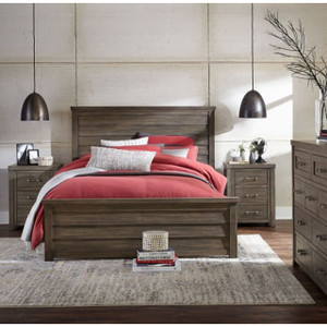 Bunkhouse Panel Bed, Queen