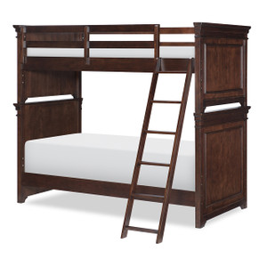 Canterbury Bunk Bed, Twin/Twin - Cherry