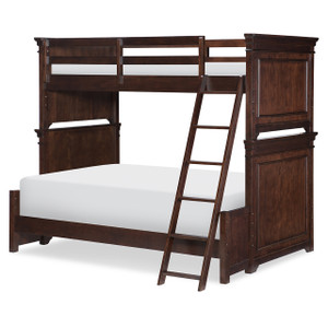 Canterbury Bunk Bed, Twin/Full - Cherry