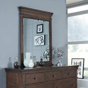 Canterbury Vertical Mirror - Cherry