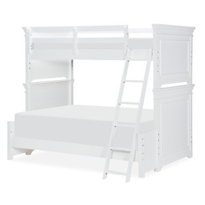 Canterbury Bunk Bed, Twin/Full - White