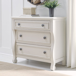 Lake House Accent Chest - White