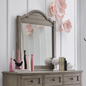 Farm House Arched Dresser Mirror