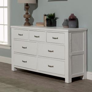 Montauk 7 Drawer Dresser - White