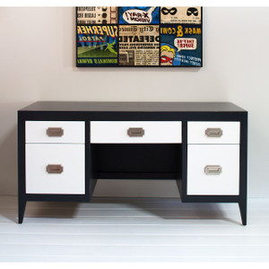 Devon Double-Pedestal Desk