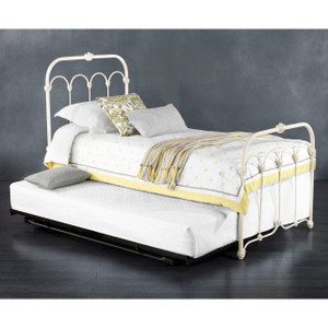 Orange Blossom Iron Bed, Twin