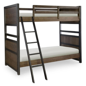 Fulton County Bunk Bed, Twin over Twin
