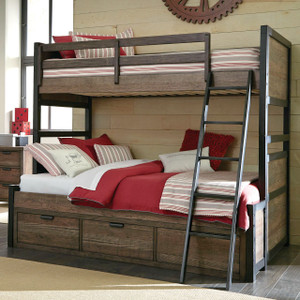 Fulton County Bunk Bed, Twin over Full