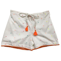 Lulu Colored Girls Dots Shorts - pack of 3
