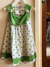 Dotty Girls' Green - Pack of 3