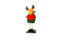 Burgundy Vibe Reindeer Standing