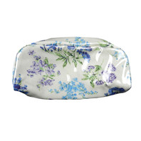 S/2 Blue Bouquet Toiletry Bag Small