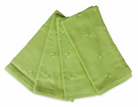 Set of 4 Green/Yellow Napkin