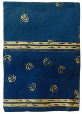 Organdy Gold Leaf/blue Table cloth