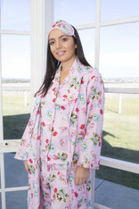 Ariana Pink Floral Robes PACK OF 3: S,M,L