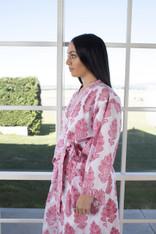 Amelie Pink in White Kimono