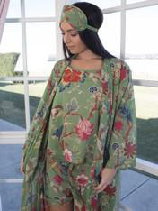 Arabella Vines Olive Short PJ Set PACK of 2: S/M & M/L (SOLD OUT)