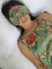 Pack of 2 Arabella Olive Sleep Mask