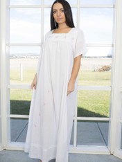 Emily Butterfly Embroidered Nightdress