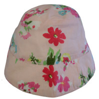 Ariana Pink Brimmed Hat Toddler 1-3 years old PACK OF 2