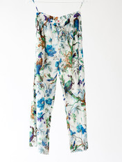 Lounge Pants - Teal Bird PACK of 3: S,M,L