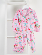 Ariana Pink Girls' PJ Set Pack of 4