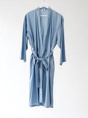 Dotty Dusty Blue Kimono NEW!!