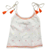 Lulu Colored Girls Dots Top - pack of 3