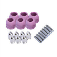Set of Nozzle Electrode and Cup 20pc PCON20 for LTP5000D, LTP6000, LTPDC2000D