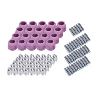 Set of Nozzle Electrode and Cup Set 90pc PCON90 for LTP5000D, LTP6000, LTPDC2000D