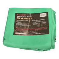 Welding Blanket 6' x 8' Acrylic Fiberglass Heat Treated Medium Duty Grommet Green Resists 1000°F