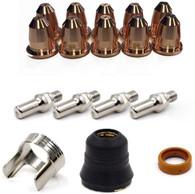 LOTOS NCON18 18 Pieces Plasma Cutter Consumables Set for LTP5500D