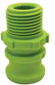"GreenLeaf Cam Lock Green 3/4"" Male Adapter x 3/4"" Male GHT"