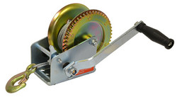 Valley Industries Side Wind Trailer Winch w. 10' Cable  | TW-1600-C10