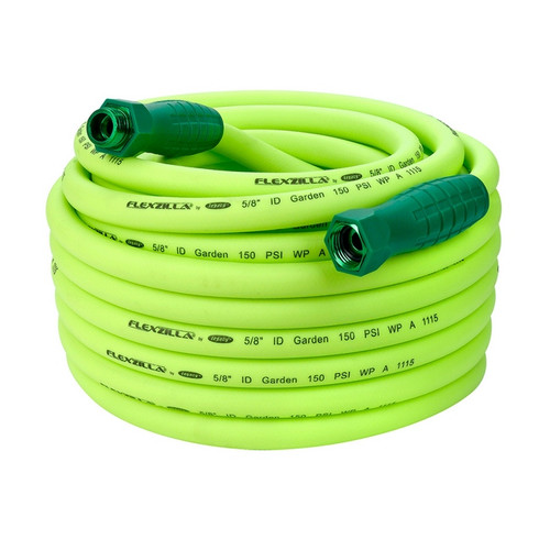 """Flexzilla Garden Hose with SwivelGrip™ Connections, 5/8"""" x 75', 3/4"""" - 11 1/2"""" GHT Fittings 
