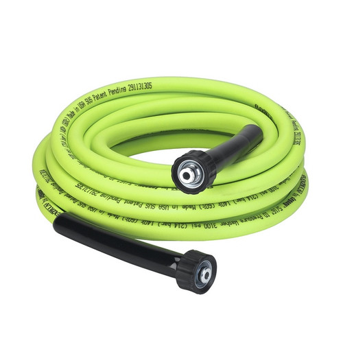 """Flexzilla Pressure Washer Hose with M22 Fittings, 5/16"""" x 25' 