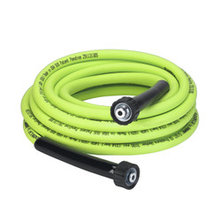 "Flexzilla Pressure Washer Hose with M22 Fittings, 5/16"" x 25' 