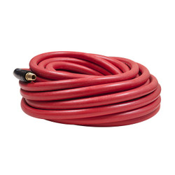 "Flexzilla Workforce® Air Hose, 3/8"" x 50', 1/4"" Fittings  Rubber 