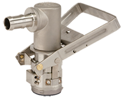 Dura Stainless Steel RSV Dispense Coupler BARBED Liquid Outlet | DP-R3713 EPDM