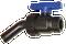 Dura 1″ Ball Valve Nozzle   DP-N4002 AG