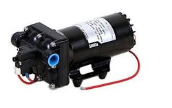 "Shurflo 12 Volt Electric Pump with 1/2"" npsm Inlet x 1/2"" npsm Outlet   5059-3611-D011"