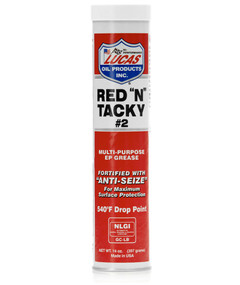 "Lucas Red ""N"" Tacky Grease, 14oz Cartridge 