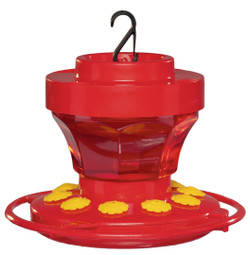 JC's Wildlife Hummingbird Flower Feeder, 16oz | FN-16HFF