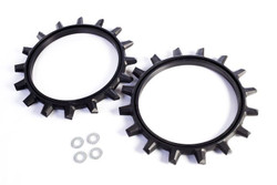 Yetter Poly Spike Closing Wheel Rings | 6200-006
