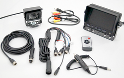"Vision Works 5"" Heavy Duty Monitor & Camera System 
