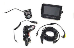 "Vision Works 7"" Weatherproof Monitor & Camera System 