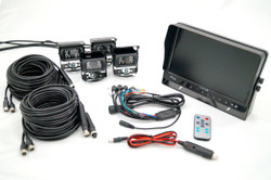 "Vision Works 10"" Monitor & Four Camera System 