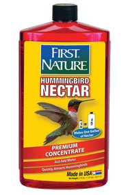 First Nature Red Hummingbird Nectar-32oz Concentrate | FN3054