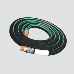 "Apache 1"" x 6' Nylon Braid Reinforced Anhydrous Ammonia (NH3) Hose Assembly 